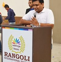 Rangoli School Event