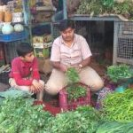 Experiential learning at Vegetable market