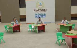 Rangoli School Election