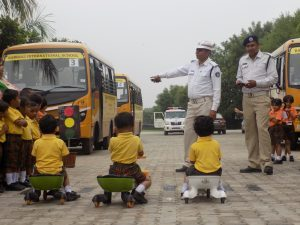 traffic rules awareness for school kids