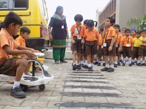 traffic rules awareness program at cbse school